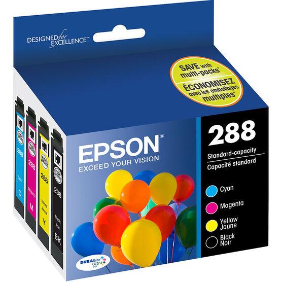 Epson 288 DuraBrite Ultra Ink - CMYK - 4 pack - T288120-BCS