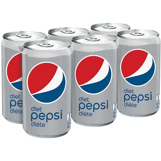 Pepsi - Diet - 4 x 222ml