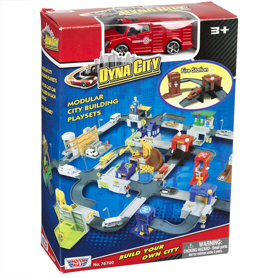 Motor Max Dyna City Playset