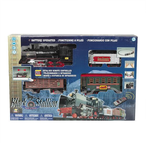 Black Stallion Train Set