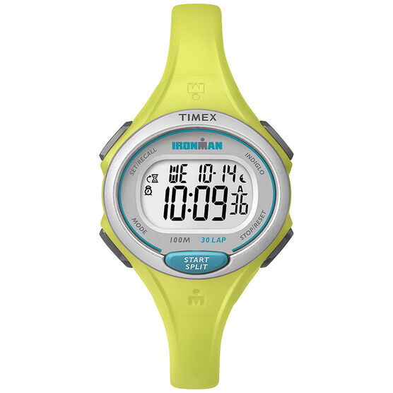 Timex Ironman Essential 30 - Lime/Silver - TW5K90200GP