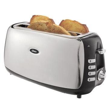 Oster 4 Slice Long Slot Toaster - Polished Stainless Steel - TSSTJCPS01-033