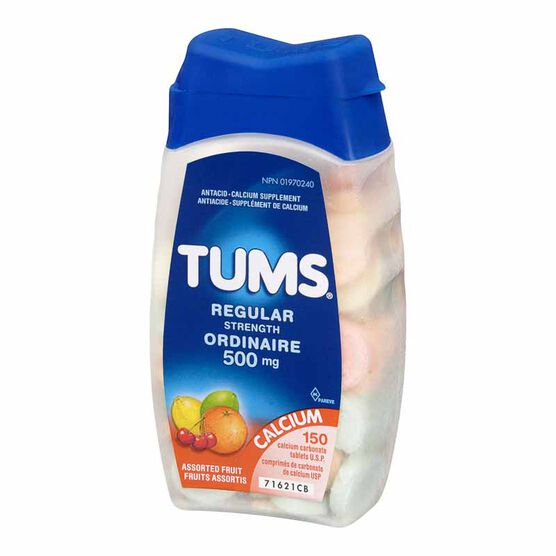 Tums - Assorted Fruit Flavours - 150's