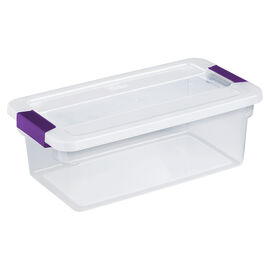 Sterilite ClearView Latch™ Box - 5.7L