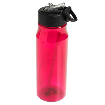 Thermos Water Bottle with Straw - Pink - 770ml