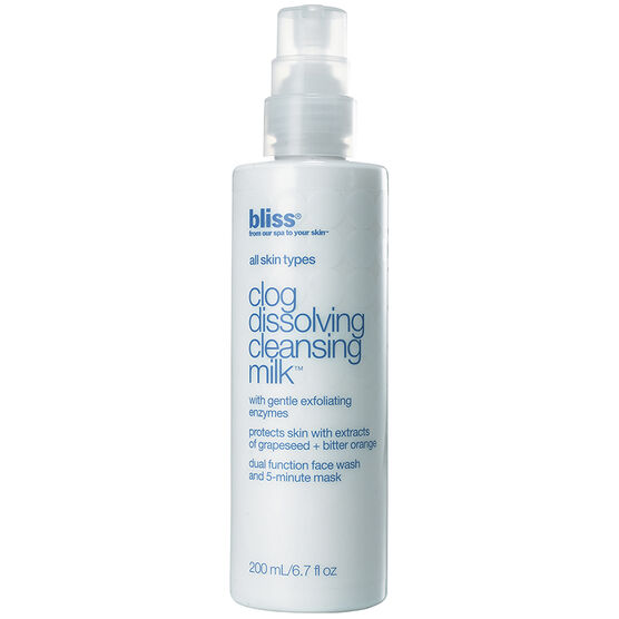 Bliss Clog Dissolving Cleansing Milk - 200ml