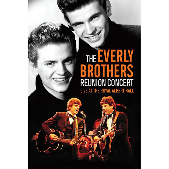 The Everly Brothers: Reunion Concert: Live at the Royal Albert Hall - DVD