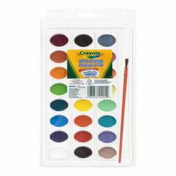 Crayola Watercolour Paints - 24 pack