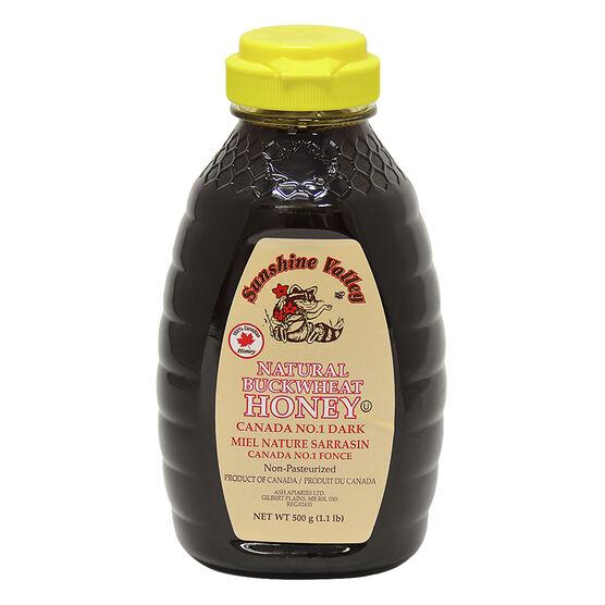 Sunshine Valley Honey - Buckwheat - 500g
