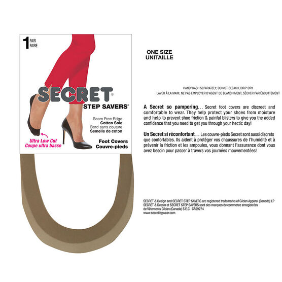 Secret Step Saver Seam Free Edge Edge - Nude
