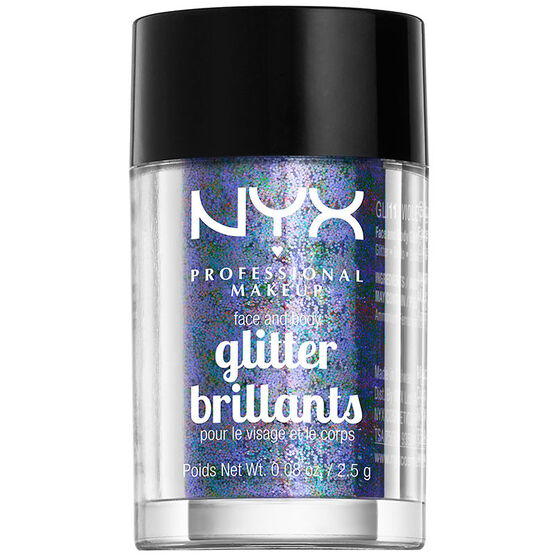 NYX Face and Body Glitter - Violet