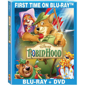 Robin Hood: 40th Anniversary Edition - Blu-ray + DVD
