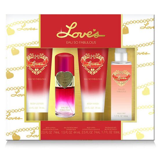Love's Eau So Fabulous Set - 4 piece