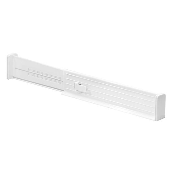 InterDesign Adjustable Drawer Divider - White