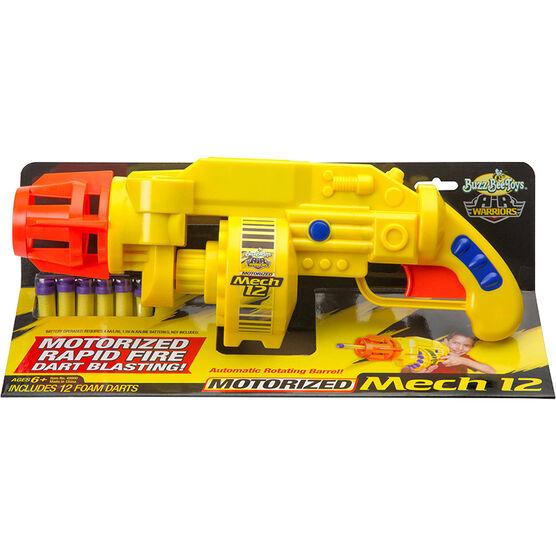 Buzz Bee Toys - Air Warriors Motorized Mech 12