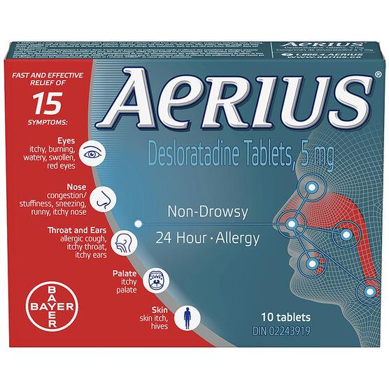 Aerius 5mg - 10's