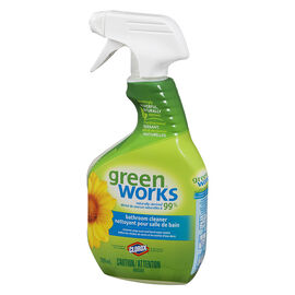 Green Works Natural Bathroom Cleaner - 709ml