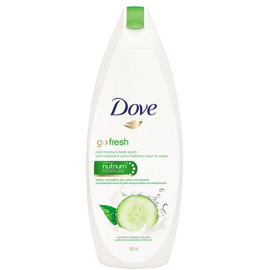 Dove Go Fresh Body wash - Cucumber & Green Tea - 650ml
