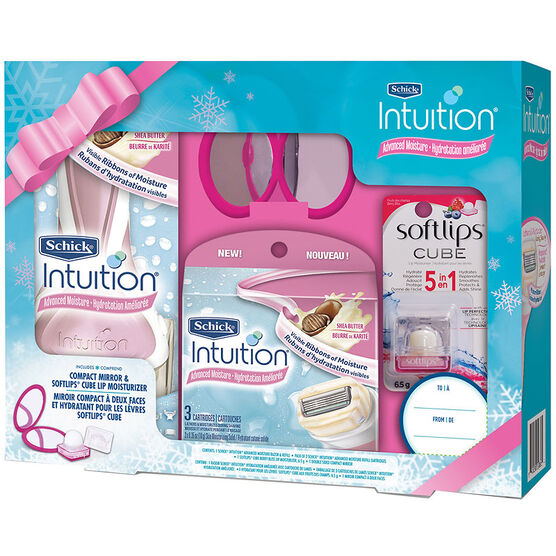 Schick Intuition Holiday Pack