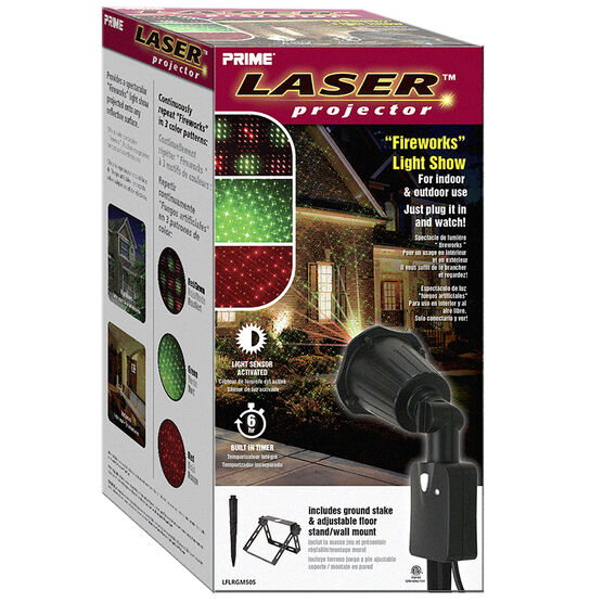 Christmas Laser House Light Projector - Red & Green Lights