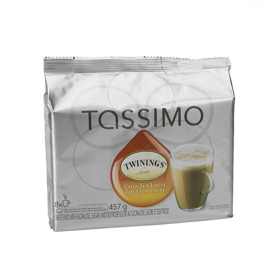 Tassimo Twinings Chai Tea Latte - 8 servings