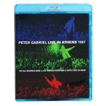 Peter Gabriel - Live In Athens 1987 - Blu-ray