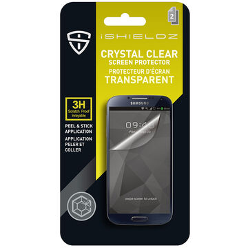 iShieldz Crystal Clear Screen Protector for Samsung Galaxy S3 - Clear - IS1GS3