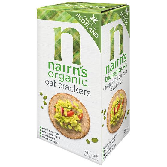 Nairns Organic Oat Crackers - 250g