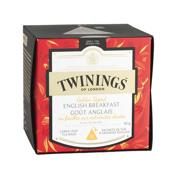 Twinings Tea - Golden Tipped English Breakfast - 15's