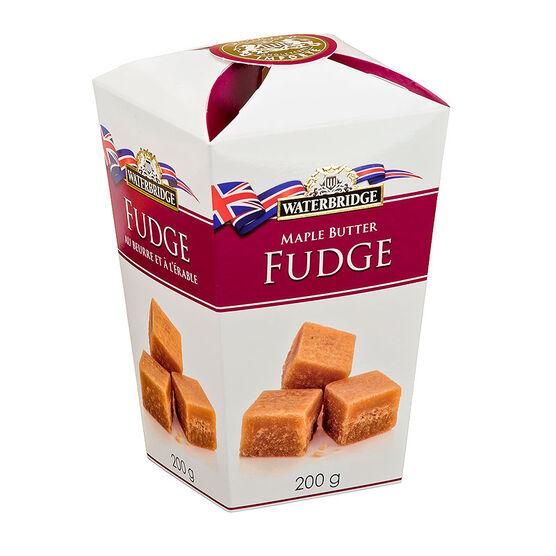 Waterbridge Maple Butter Fudge - 200g
