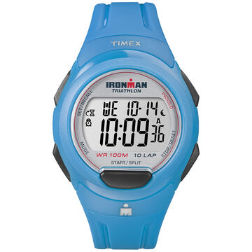 Timex Ironman 10 Lap Watch - Blue - T5K781GP