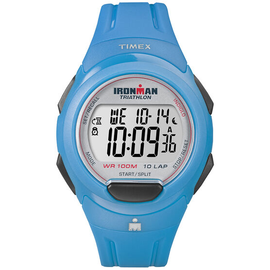 Timex Ironman 10 Lap Watch - Blue - T5K781GP
