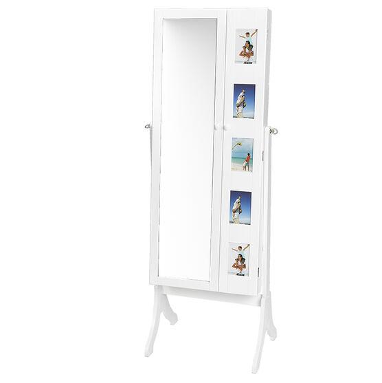 London Drugs Ava Jewelry Cabinet - White
