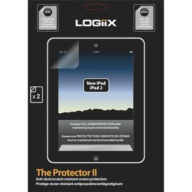 Logiix Clear Screen Protector II for iPad 2 - LGX-10310
