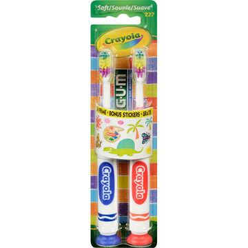 G.U.M Kids Toothbrush - Soft - 2's