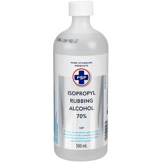 PSP Isopropyl Rubbing Alcohol 70% - 500ml | London Drugs