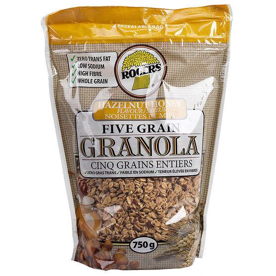 Rogers Granola - Hazelnut & Honey - 750 g