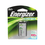 Energizer No. NH22 - Battery - Rechargeable - 9V - NiMH - 150 mAh