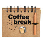 London Drugs Coffee Break Note Pad - 120 pages