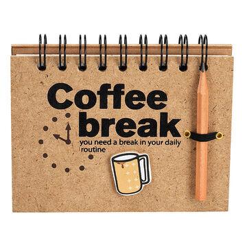 London Drugs Coffee Break Note Pad - 120 pages