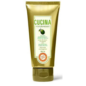Fruit & Passion Cucina Hand Butter - Lime Zest and Cypress - 60ml