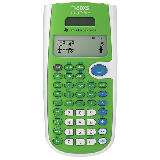 TI-30XS Multi-View Scientific Calculator - Green - TI30XSMVG