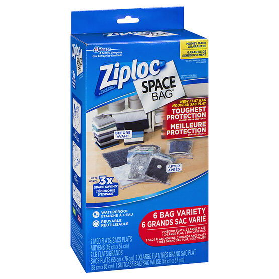 Ziploc Space Bag Combo - 6's