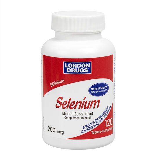 London Drugs Selenium - 200mcg - 120's