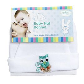Honey Bunny Newborn Cotton Hat - Assorted
