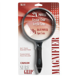 Carson SureGrip Handheld Magnifier - SG-14