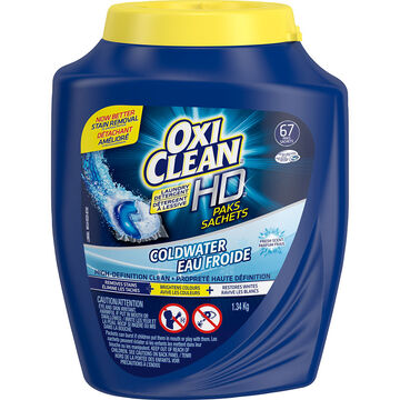 Oxi Clean HD Dual Laundry Paks - Cold - 67's