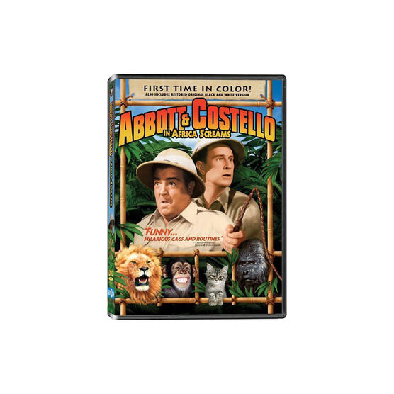 Africa Screams: Abbott & Costello - DVD