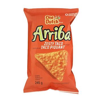 Old Dutch Arriba Tortilla Chips - Zesty Taco - 245g