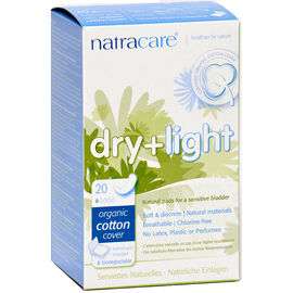 Natracare Incontinence Dry and Light Pads - 20's